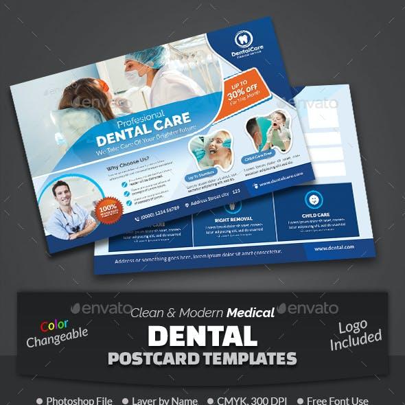 Dental Postcard Template