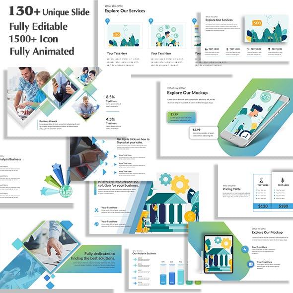 Business Teach PowerPoint Template
