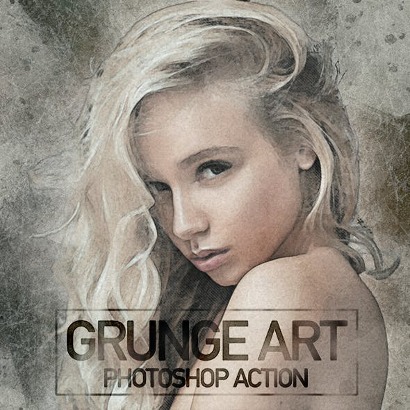 Grunge Art Photoshop Action
