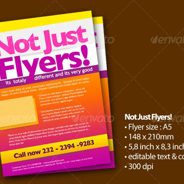 Not Just Flyers!