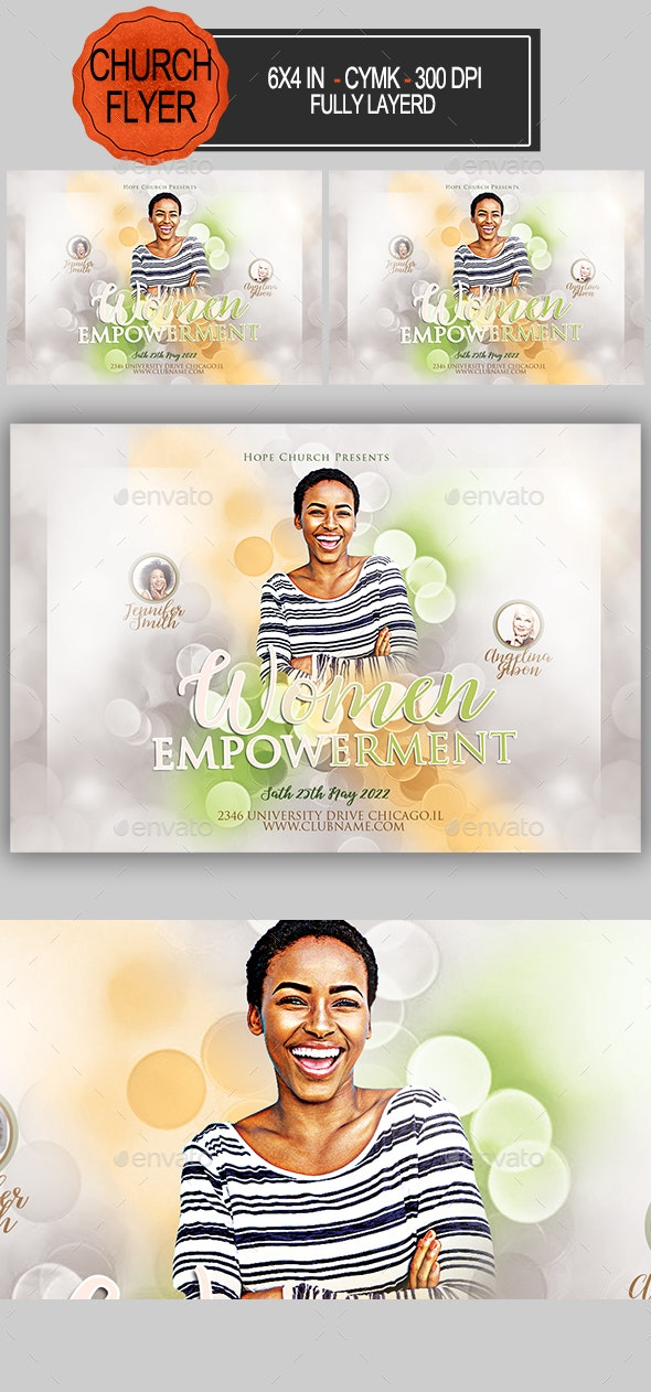 Women Empowerment Flyer - Church Flyers