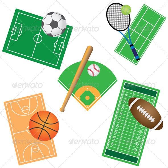 Set of Sport Games.