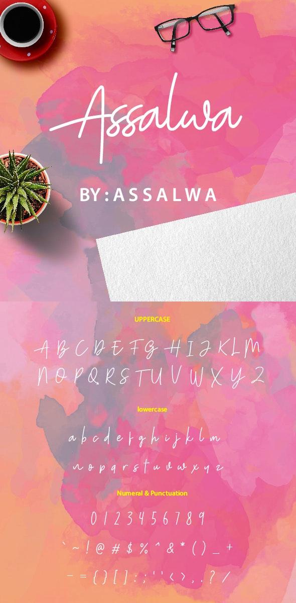 Assalwa - Handwriting Fonts