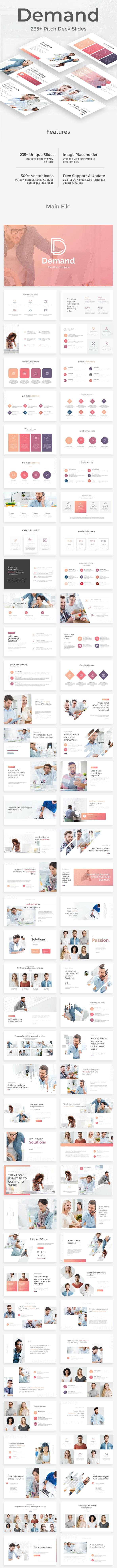 Demand Management Pitch Deck Powerpoint Template - Business PowerPoint Templates