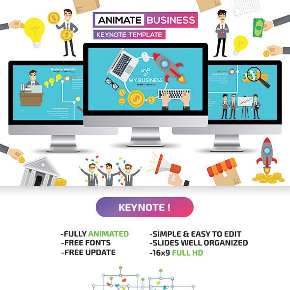 Business Animate Keynote Presentation