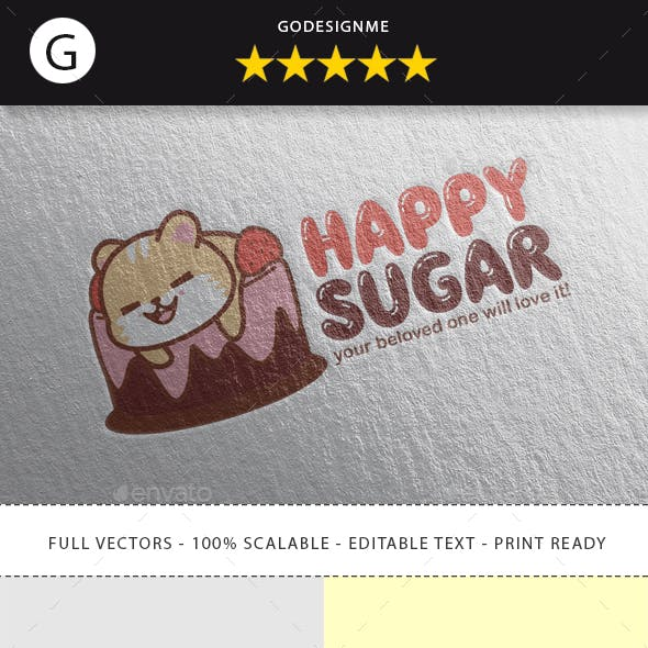 Happy Sugar Logo Design