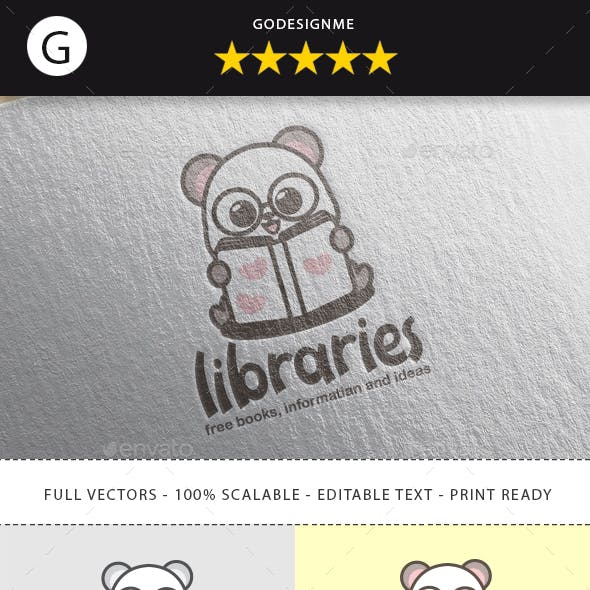 Libraries Logo Design
