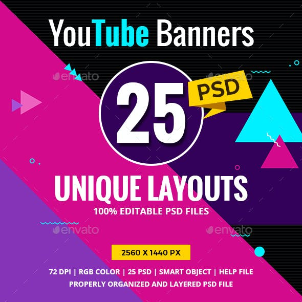 Youtube Cover Banners