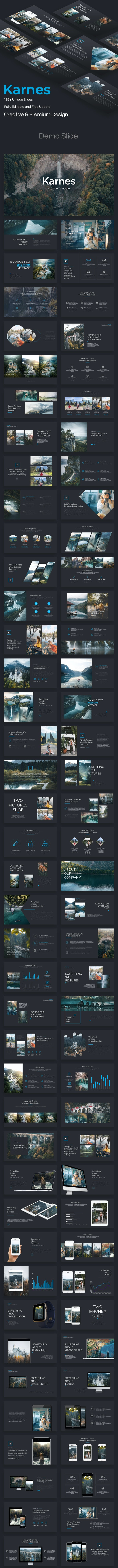 Karnes Creative Powerpoint Template - Creative PowerPoint Templates