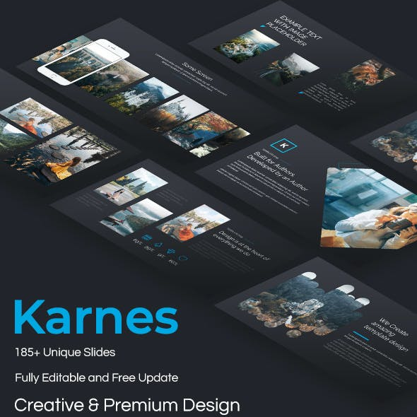 Karnes Creative Powerpoint Template