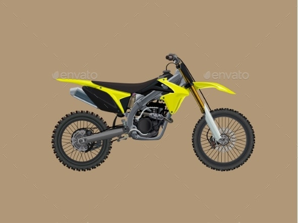 Sport Moto Offroad Technical Model - Man-made Objects Objects