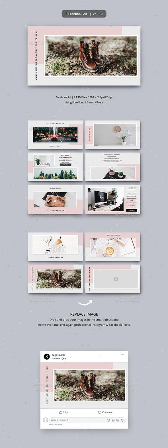 Facebook Ad Vol. 10 - Facebook Timeline Covers Social Media