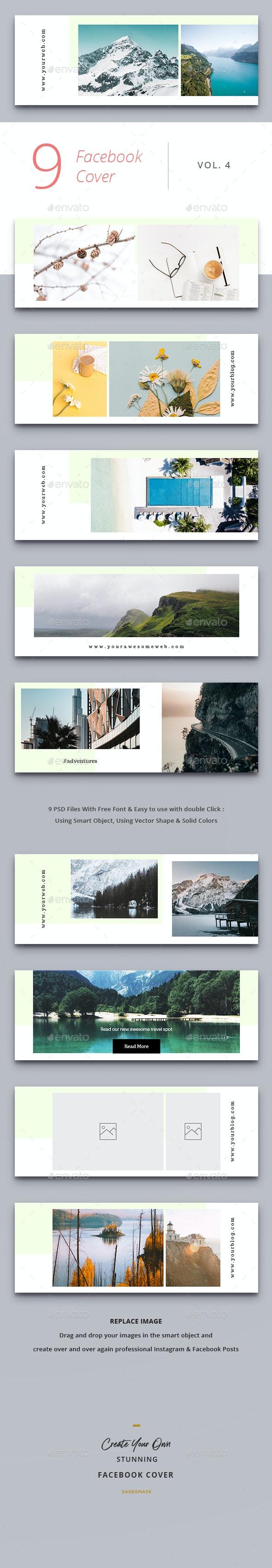 Facebook Cover Vol. 4 - Facebook Timeline Covers Social Media