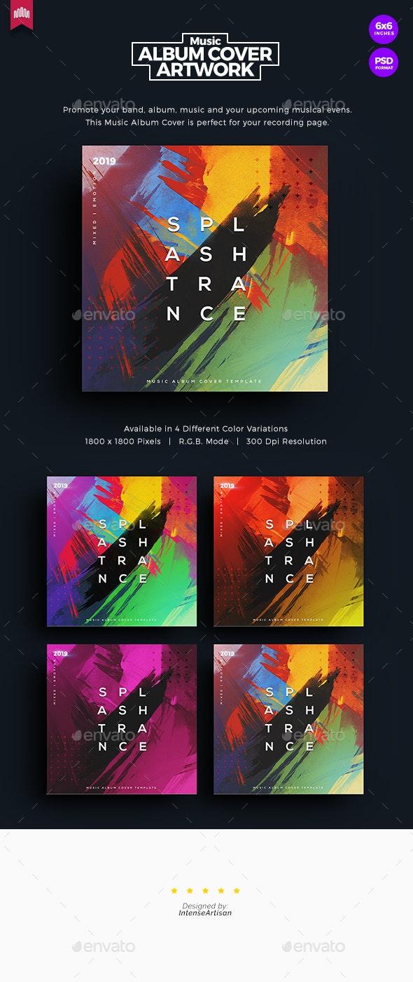 Splash Trance - Music Album Cover Artwork - Miscellaneous Social Media
