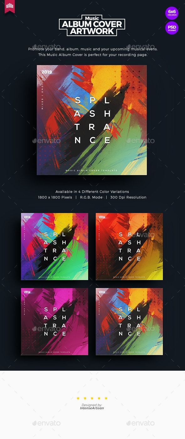 Splash Trance - Music Album Cover Artwork - Miscellaneous Social Media