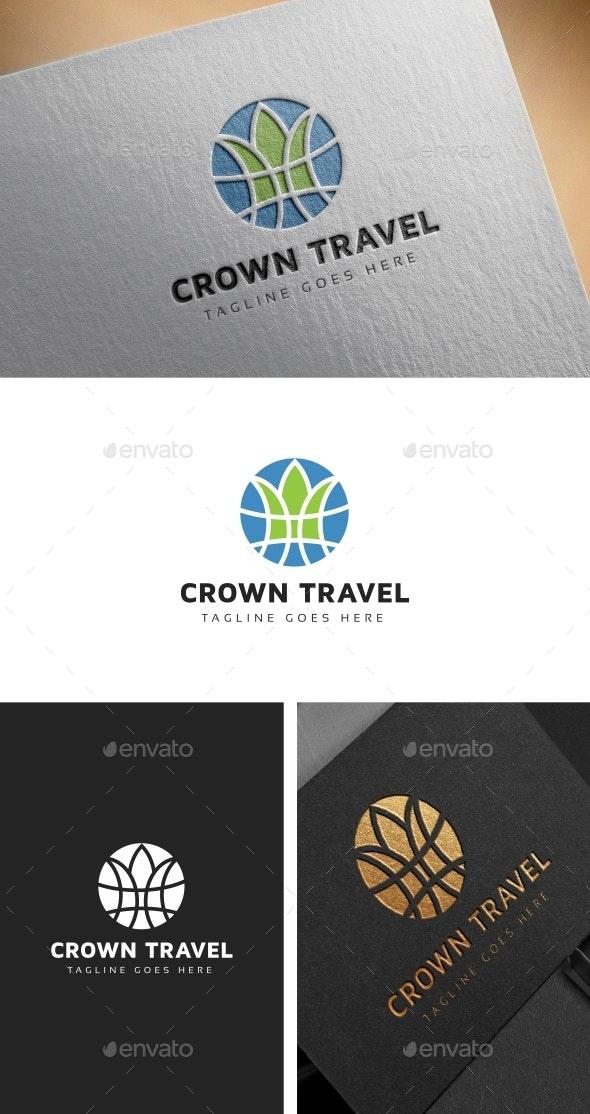Crown Travel Logo - Symbols Logo Templates