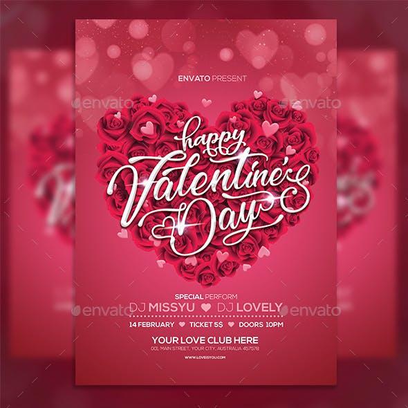 Valentine Flyer Party