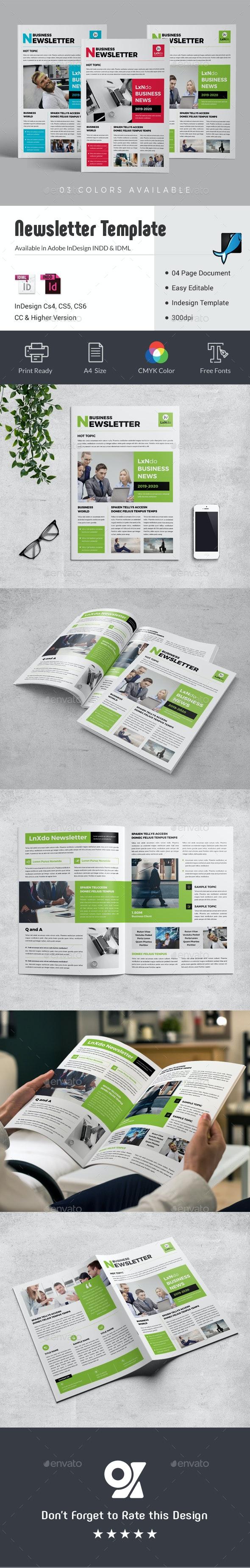Newsletter - Newsletters Print Templates