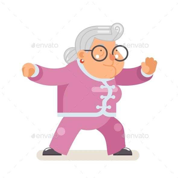 Wushu Kungfu Taichi Fitness Healthy Activities
