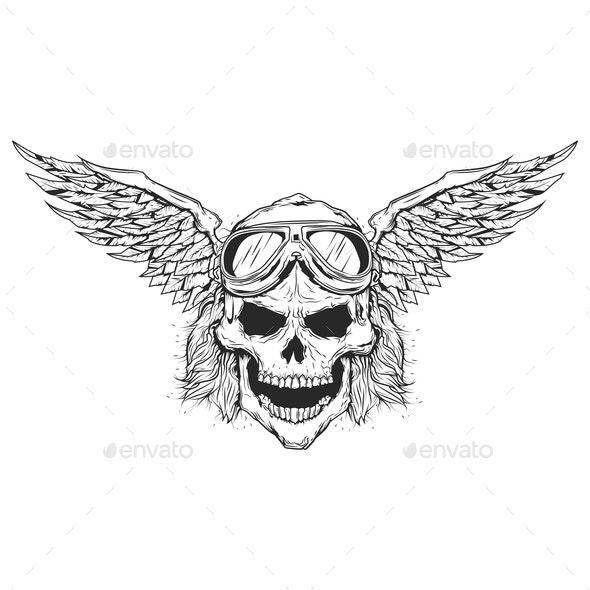Skull - Sports/Activity Conceptual
