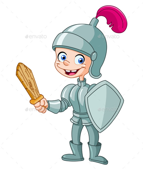 Knight Kid - People Characters
