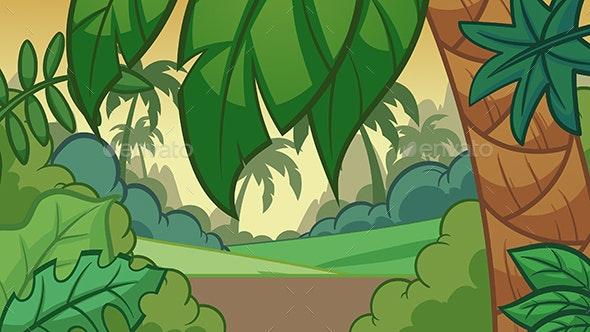 Jungle Background - Landscapes Nature