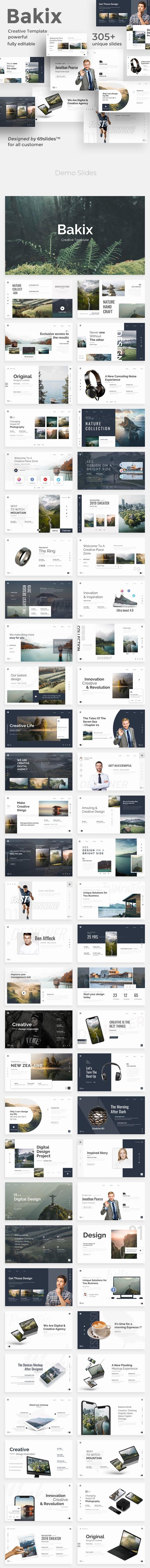 Bakix Premium Powerpoint Template - Creative PowerPoint Templates