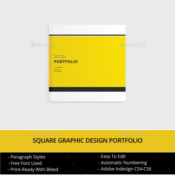 Square Graphic Design Portfolio