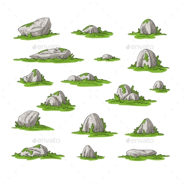 Collection of Some Stones - Landscapes Nature