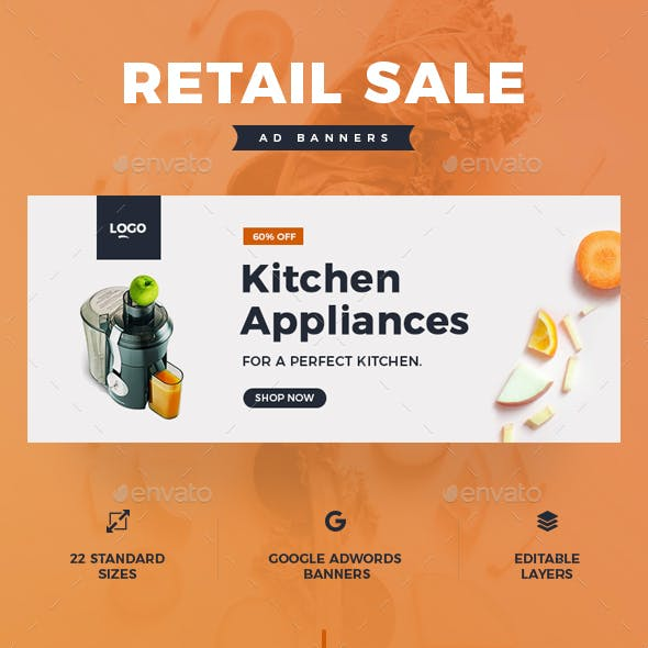 Kitchen Appliances Graphics Designs Templates