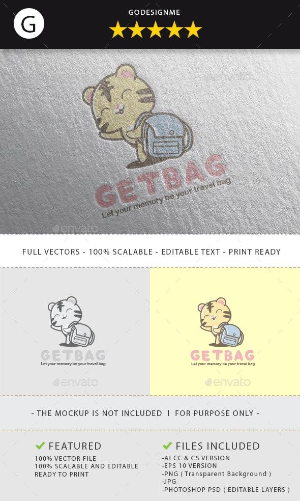 Get Bag Logo Design - Vector Abstract