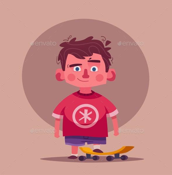 Boy Character - Sports/Activity Conceptual