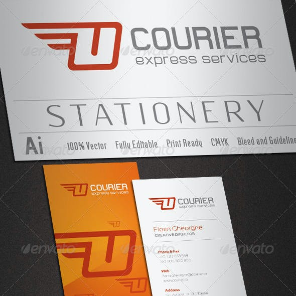 Courier Stationery