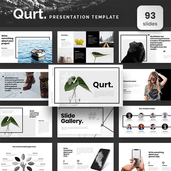 Qurt Powerpoint Presentation Template