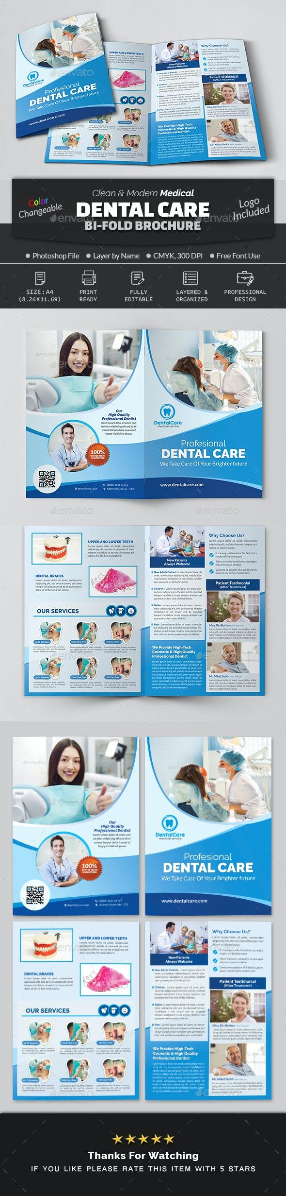 Dental Bi Fold Brochure - Corporate Brochures