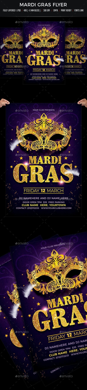 Mardi Gras - Events Flyers