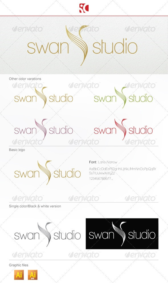 SwanStudio Logo Template - Animals Logo Templates