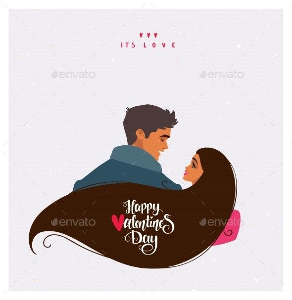 Couple Romantic Valentines - Valentines Seasons/Holidays