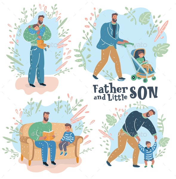 Paternity Father and son - People Characters
