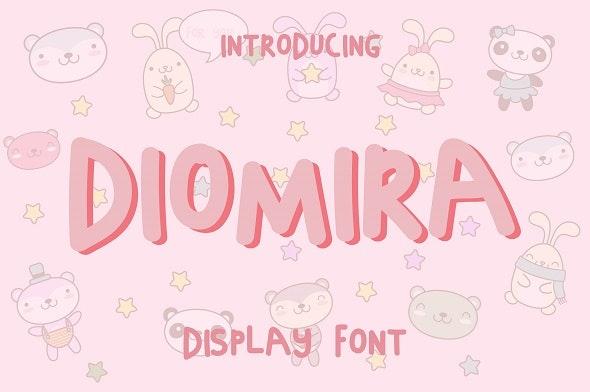 Diomira Font - Cool Fonts