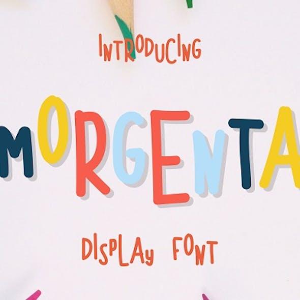 Morgenta Font