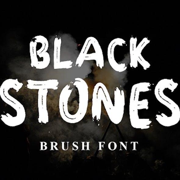 Black Stones Font