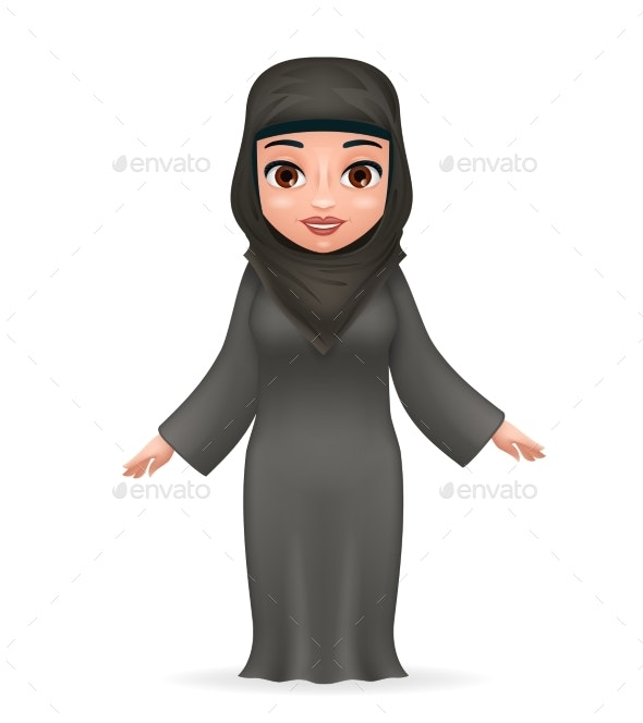 Arab Female - People Characters