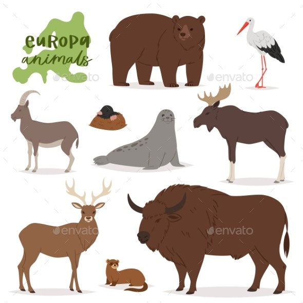 Animal Vectors - Animals Characters