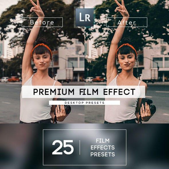 25 Film Effect Presets