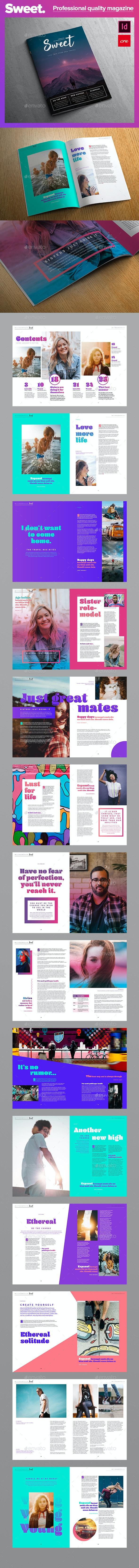 Sweet Magazine - Magazines Print Templates