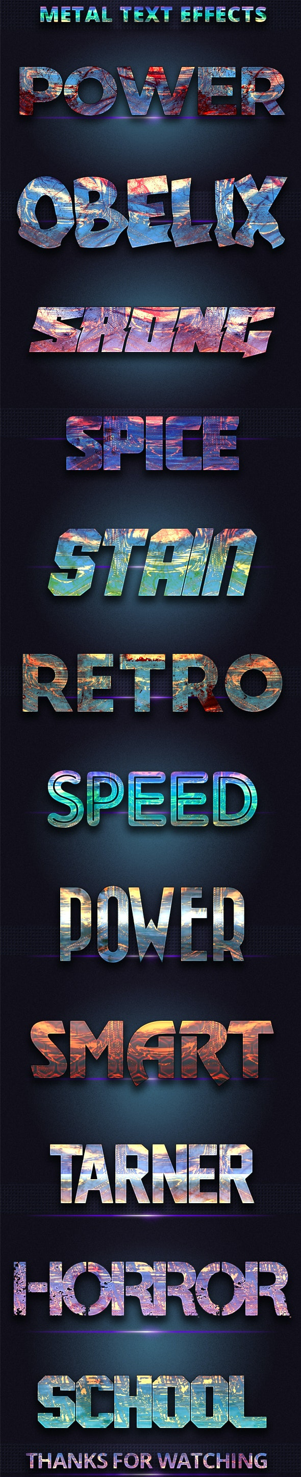 Realistic Mattel Text Effects - Text Effects Actions
