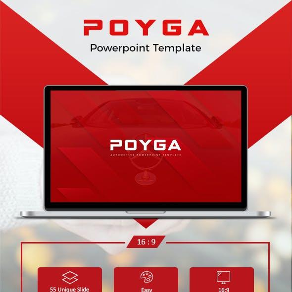 Poyga Automotive Presentation Template