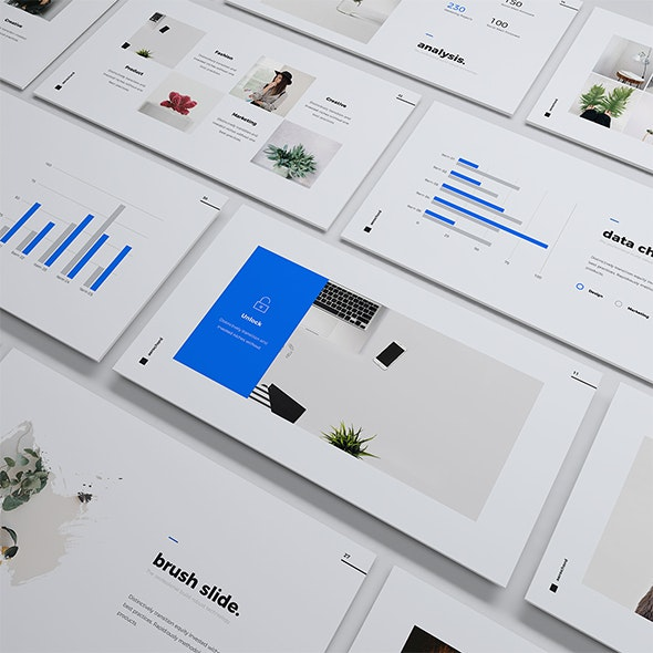 Aerochord - Minimal & Business Template (PPTX) - Creative PowerPoint Templates
