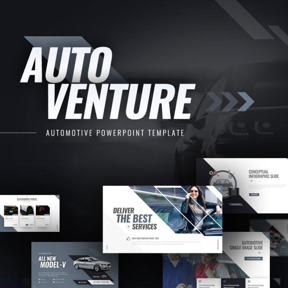 Autoventure Automotive PowerPoint Template